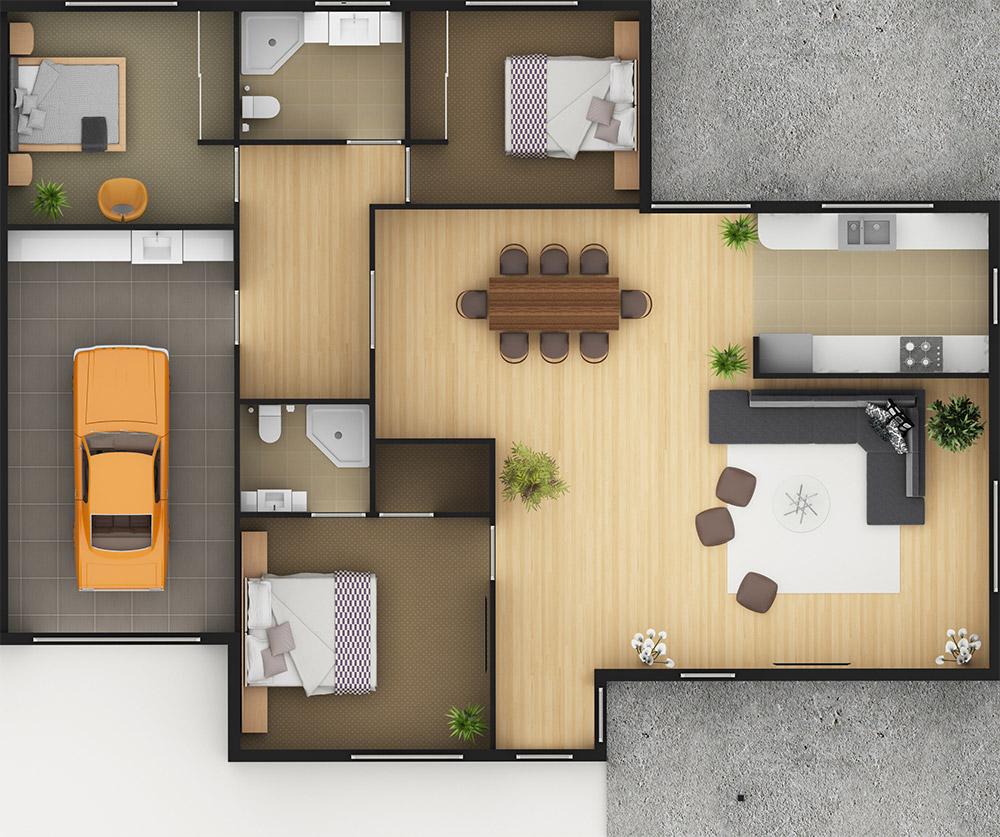 Sample Floor Plan Two